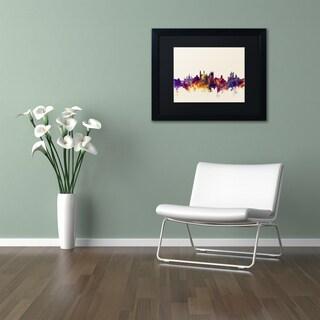 Michael Tompsett 'Cambridge Skyline' Matted Framed Art