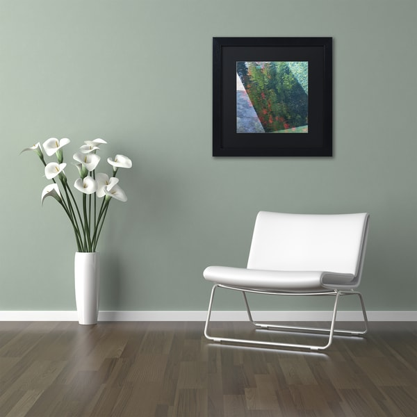Kurt Shaffer 'Inspired by Monet' Matted Framed Art