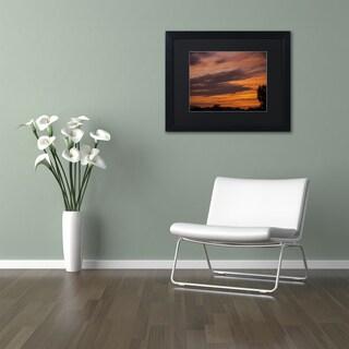 Kurt Shaffer 'Sky on Fire' Matted Framed Art