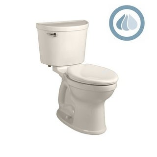 American Standard Champion Pro White Porcelain Elongated Toilet