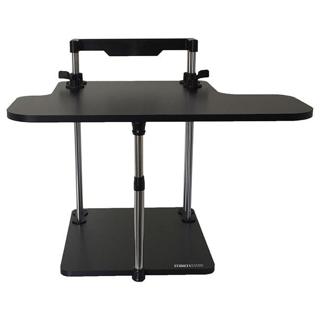 UpTrak Black Laminate Particle Board Standing Desk (Black...