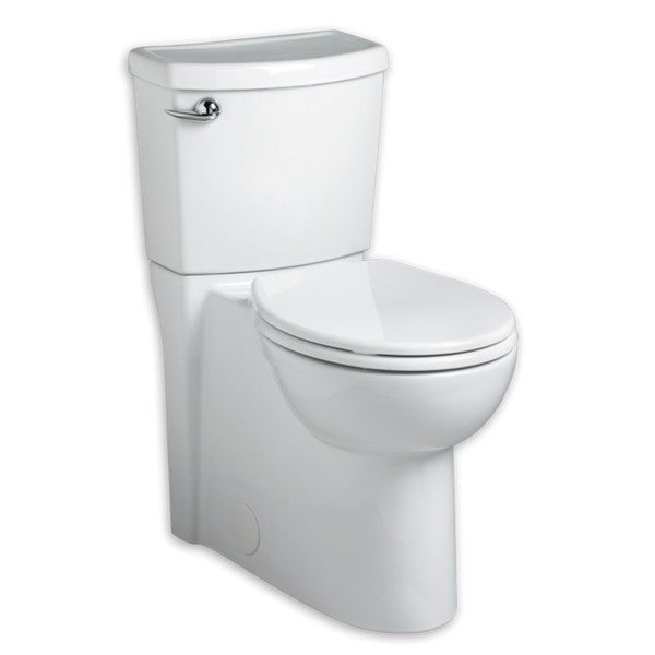 Shop American Standard Cadet Round White Porcelain Two-piece Toilet ...