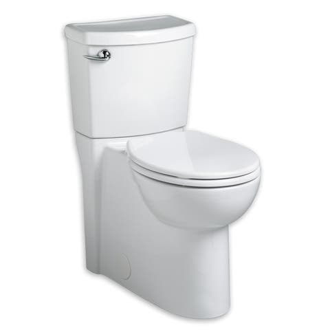 American Standard Cadet Round White Porcelain Two-piece Toilet
