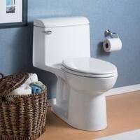 American Standard Champion 4 NH EL 2004.314.020 White Porcelain 1-piece Slow-close Seat Toilet