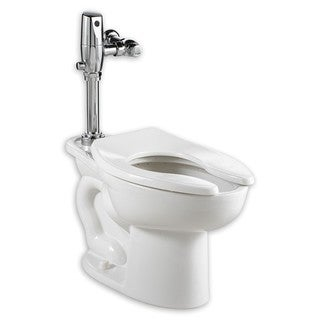 American Standard Madera White Porcelain Oval 2-piece Toilet