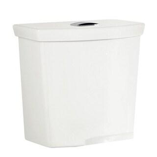 American Standard H2Option White Porcelain Toilet Tank