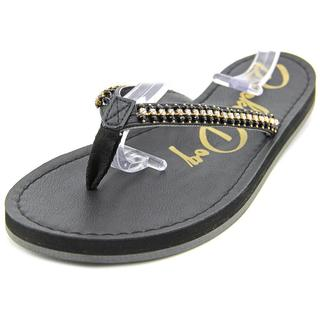 Rocket Dog Women's Portia You Fancy Black Polyurethane Flip-flop Sandals