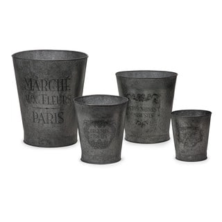 French Garden Pots (Set of 4)