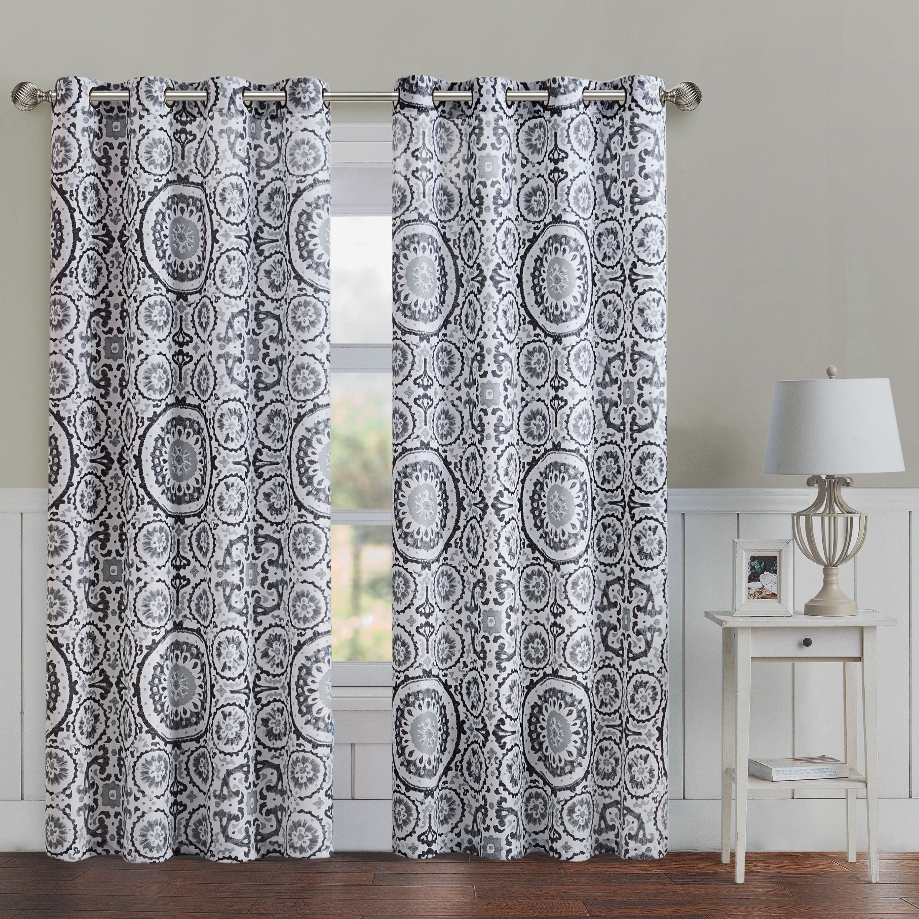 blackout curtain panel free overstock product thermal home solid pair insulated garden panels shipping today