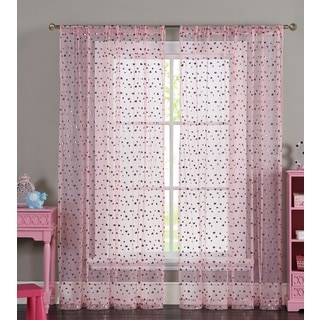 VCNY Merlin Sheer Curtain Panel