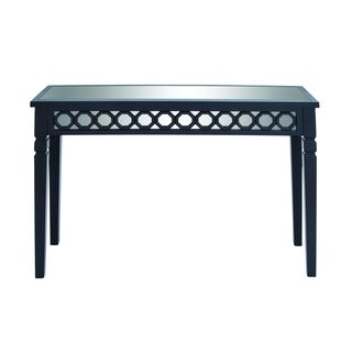 Black Wood Contemporary Table