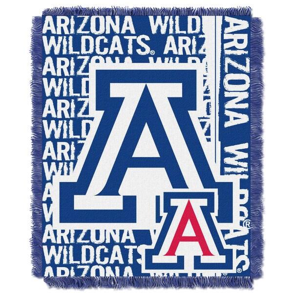 The Northwest Company Arizona Wildcats Multi-color Acrylic Woven Jacquard Throw
