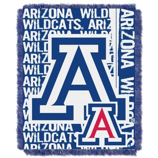 The Northwest Company Arizona Wildcats Multi-color Acrylic Woven Jacquard Throw