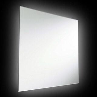 Dainolite Silver Backlit Square Mirror