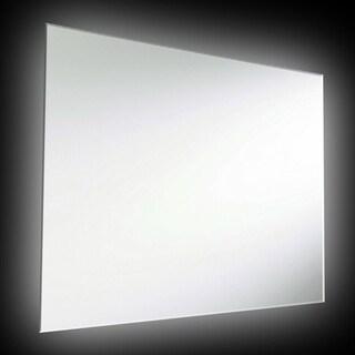 Dainolite Silver 36-inch x 26-inch 47-watt Rectangular Backlit Mirror - 36 x 26