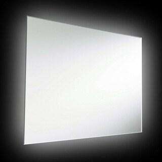 Dainolite 42-watt Backlit 32-inch x 24-inch Rectangular Mirror - White
