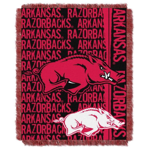 The Northwest Company College 019 Arkansas Multicolor Acrylic Blanket