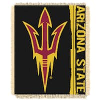 The Northwest Company Arizona State Multicolor Acrylic Woven Jacquard Throw