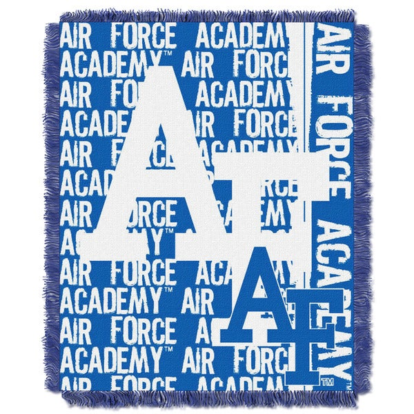The Northwest Co 019 Air Force Academy Multicolor Acrylic Blanket
