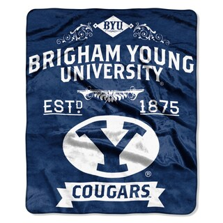 COL 704 Polyester BYU Label Raschel Throw