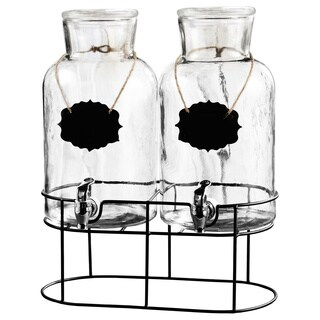 Sierra Chalkboard Dispenser (Set of 2)