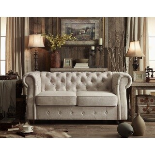 Moser Bay Furniture Olivia Tufted Loveseat