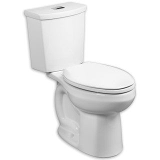 American Standard H2Option White Elongated Toilet