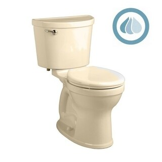 American Standard Champion 211BA.104.021 Bone Porcelain Round 2-piece Toilet