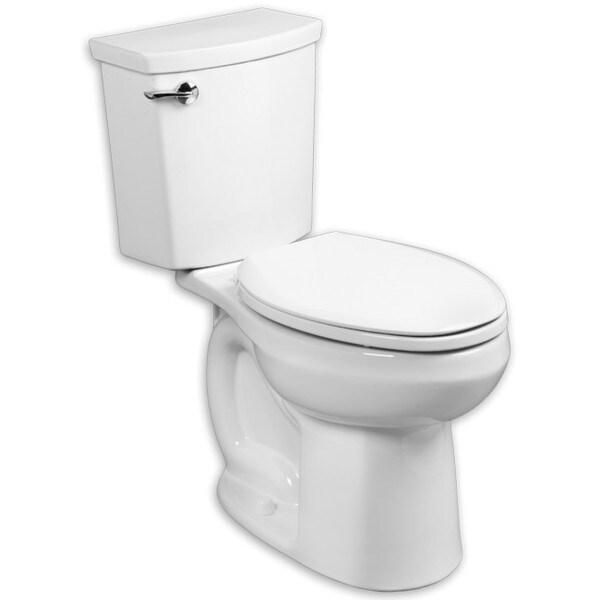 Shop American Standard H2optimum Elongated White Porcelain