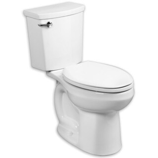 American Standard H2Optimum Elongated White Porcelain Toilet