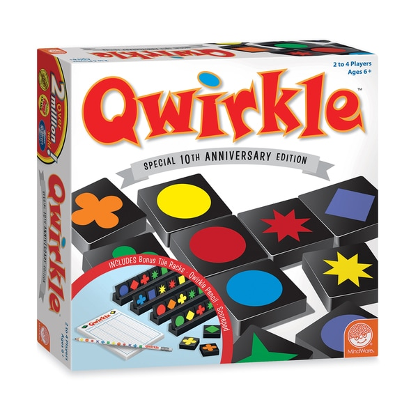 Mindware Special 10th Anniversary Edition Qwirkle