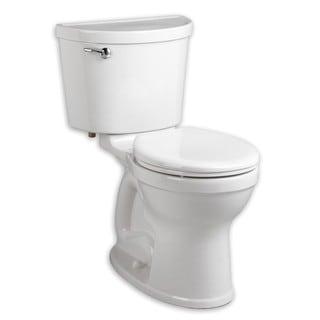 American Standard Champion White Porcelain Round 2-piece Toilet