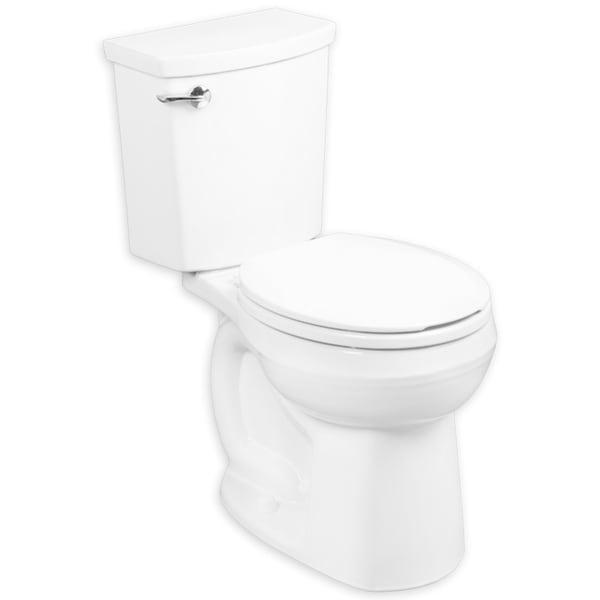 Shop American Standard H2Optimum 288DA.114.020 White Porcelain Round ...
