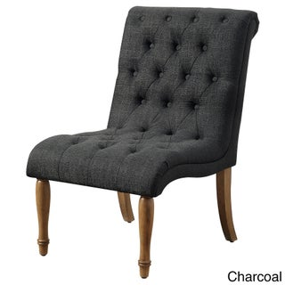 Iris Armless Collection Tufted Accent Chair (4 options available)