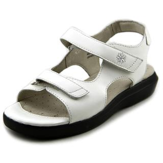 Propet Women's Tahoe Walker White Rubber/Leather Sandals