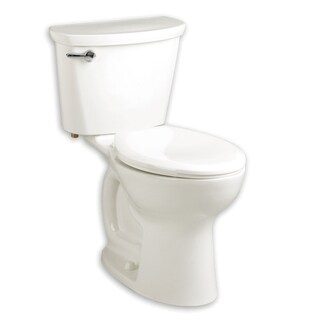American Standard Cadet White Porcelain Elongated 2-piece Toilet