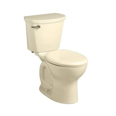 American Standard Cadet 215DA.004.021 Bone Porcelain Round 2-piece Toilet