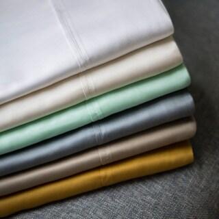 Malouf Woven Tencel Standard/Queen/King 2-piece Pillowcase Set