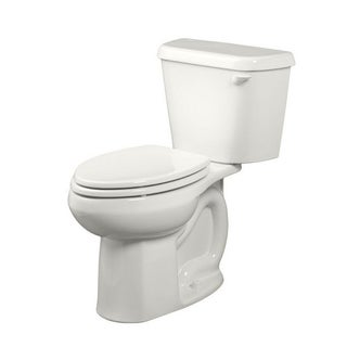 American Standard Colony White Porcelain Elongated Toilet