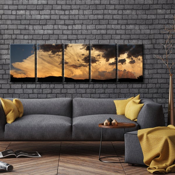 Ready2HangArt™ 'Sunset Clouds' by Bartlett Hayes
