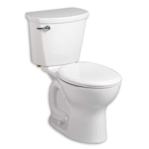 American Standard Cadet White Porcelain Round 2-piece Toilet