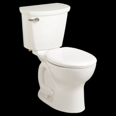 American Standard Cadet Pro Round Front Two-Piece 1.28 GPF Toilet with 12-in Rough-In