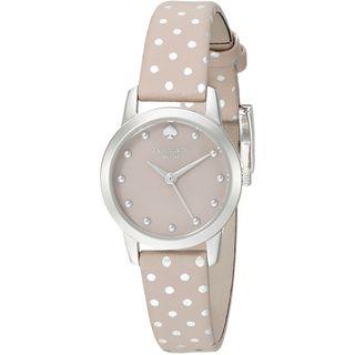 Kate Spade Women's 1YRU0891A 'Mini Metro' Beige Leather Watch