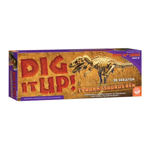 Dig It Up! Tyrannosaurus Rex Dino Model - Brown