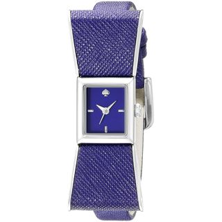 Kate Spade Women's KSW1029 'Kenmare' Purple Leather Watch