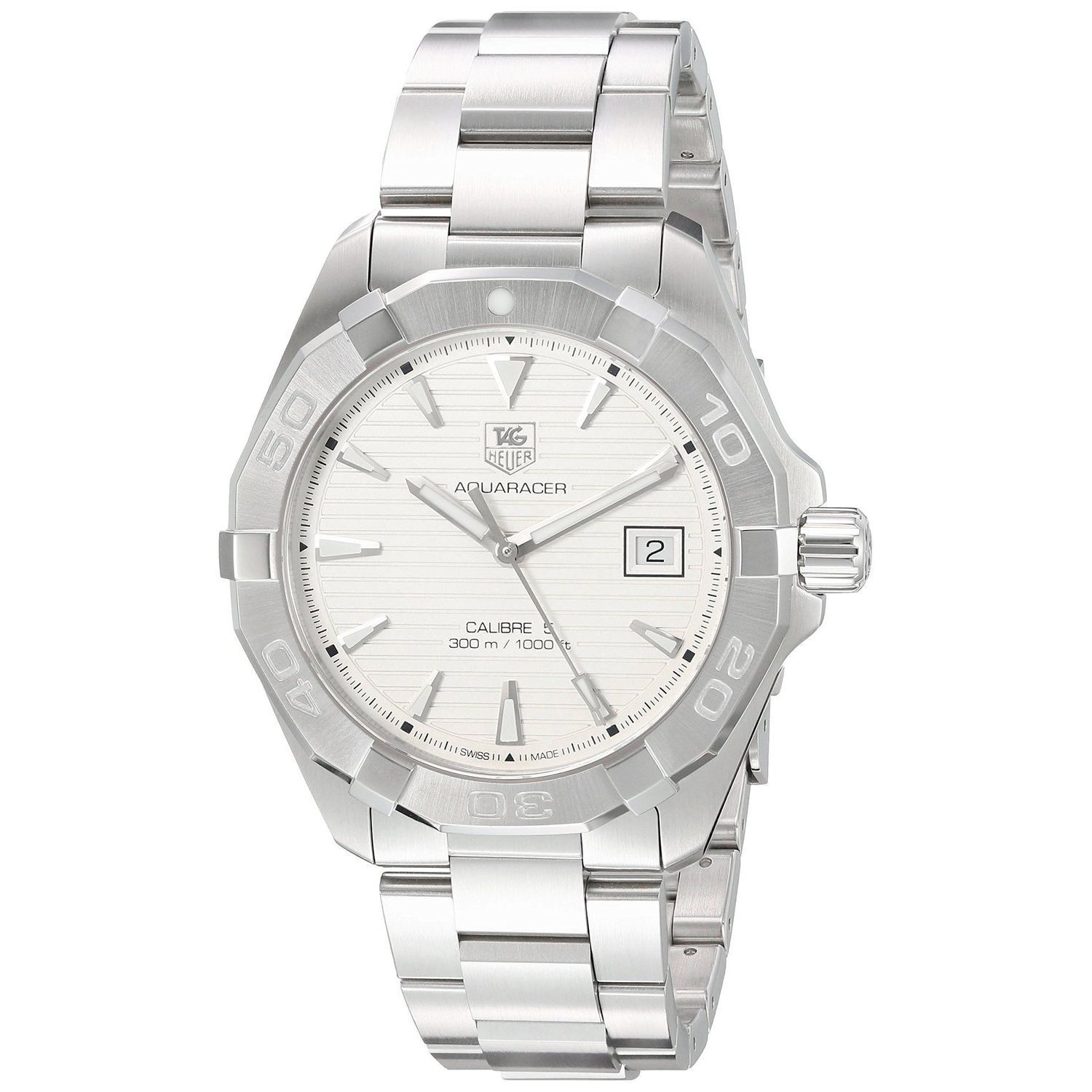 Tag Heuer Men's WAY2111.BA0928 'Aquaracer' Stainless Stee...