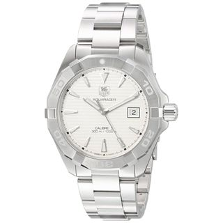 Tag Heuer Men's WAY2111.BA0928 'Aquaracer' Stainless Steel Watch