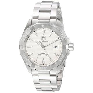 Tag Heuer Men's WAY2111.BA0928 'Aquaracer' Stainless Steel Watch