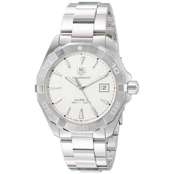 Tag Heuer Men's WAY2111.BA0928 'Aquaracer' Stainless Steel Watch. Opens flyout.