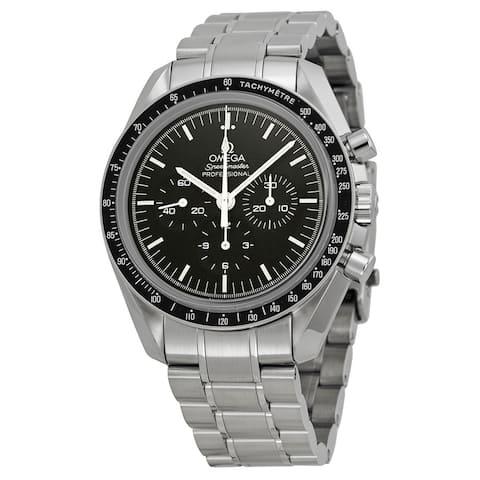 Omega Men's 31130423001006 Speedmaster Black Watch